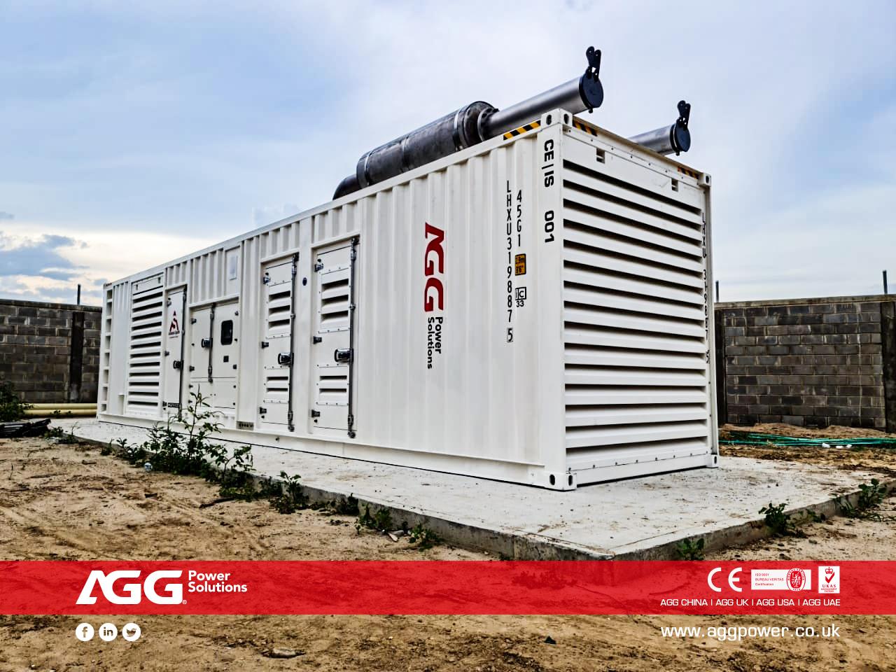 AGG C Series 丨2500kVA 60Hz丨Colombia