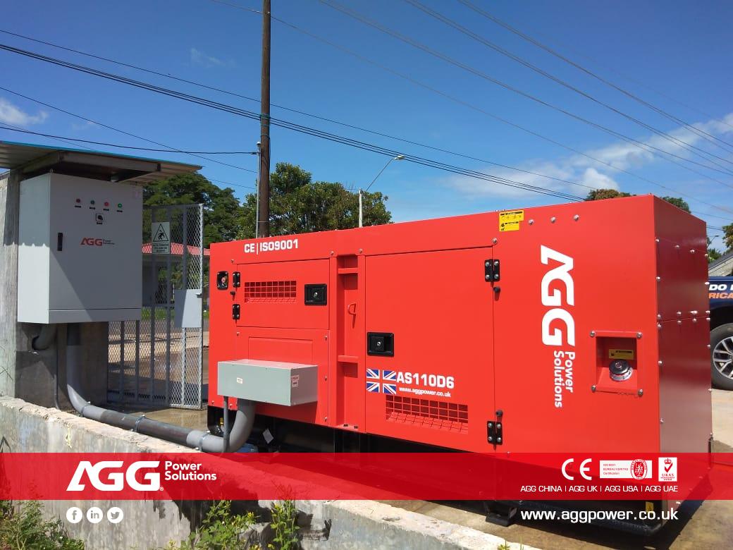 AGG AS Series 丨110kVA 60Hz丨Panama