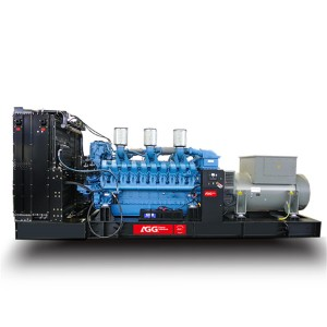 2019 Good Quality Single Phase Diesel Engine Generator – M3438E6-60HZ – AGG Power