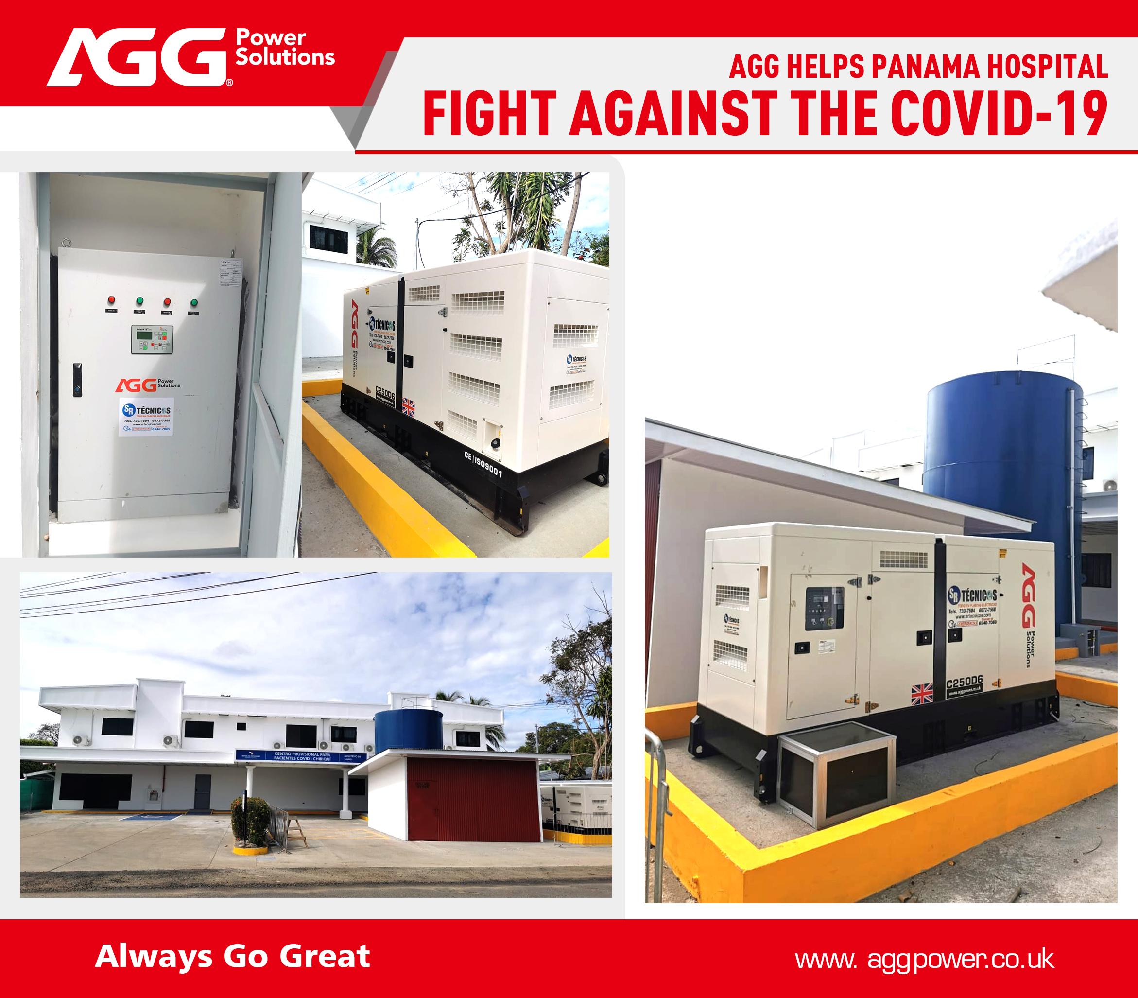AGG C Series丨250kVA 60Hz丨Panama